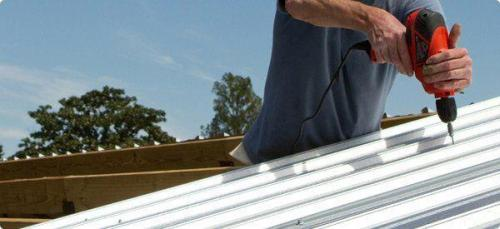 metal corrugated roof repair